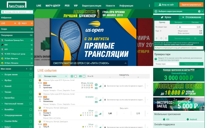 Лучший БК в РФ Лига Ставок